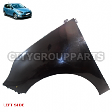GRAND SCENIC MK3 MODELS 2009 TO 13 PASSENGER LEFT FRONT SIDE WING FENDER